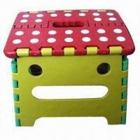 Wholesale Folding Stool, Made of PP, Various Colors are Available, with 120kg Loading Capacity from china suppliers