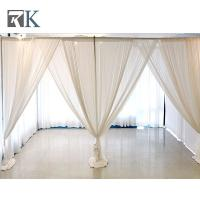 Wholesale Portable pipe and drape backdrop kits for wedding and special event from china suppliers