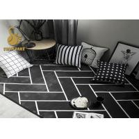 Wholesale Yellow / White Pattern Living Room Floor Rugs With Anti Slip Layer Various Pattern from china suppliers