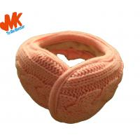 Wholesale Knitting Stereo 600 1000 1200 HZ Winter Earmuff Headphones For Mobile Phone  (Dia 30mm) from china suppliers