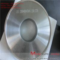 Wholesale 1A1 200*40*76*5 Metal bond Grinding wheels for magnetic materials ALisa@moresuperhard.com from china suppliers