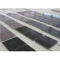 Quality Cheap China Black Wooden Marble Tile/Slab For Ktchen/Bathroom Countertop/Vanity Top for sale