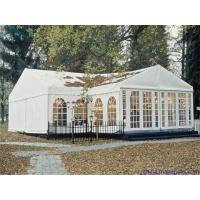 Wholesale Customized Camping Canvas Tent White , Marquee Party Tent With Double PVC from china suppliers