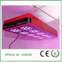 Wholesale 2016 new Hydroponic LED Grow Lights 150*3W for indoor Flower plants with vegetative&flower from china suppliers