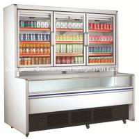 Wholesale Freestanding 3 Doors Commercial Beverage Display Refrigerator For Mall from china suppliers