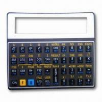 Wholesale Membrane switch/press key, domed buttons with tactile feedback from china suppliers