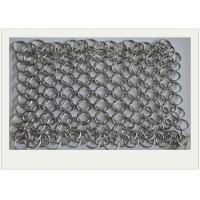 Wholesale 6*8 Stainless Steel Chainmail Scrubber / Cast Iron Chain Cleaner Non - Toxic from china suppliers