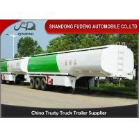 Wholesale Storage Oil Tank Semi Trailer With 4 Compartments / Fuel Tanks Semi Trucks  from china suppliers