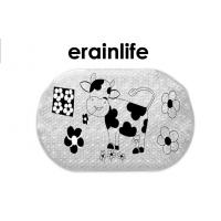 Wholesale Non Slip Bathroom Mats Black White Cute Cow Home Shower Room Accessories from china suppliers