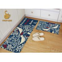 Wholesale Fireproof Non Slip Kitchen Rugs Washable , Kids Bedroom Rugs Easy Clean from china suppliers