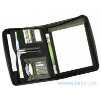Wholesale A4 Zipped Folder with Calculator,A5 file folder,office supplies from china suppliers