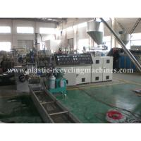 Wholesale Cutting PP PA PET Plastic Granulating Machine , Plastic Pelletizing Line from china suppliers
