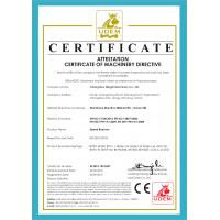 Changzhou Mingdi Machinery Co., Ltd. Certifications