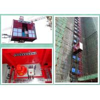 Quality Material And Passenger Builders Lift For Construction Site 37 Kw Invertor Power for sale