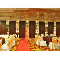 Wholesale Wooden Sliding Partition Walls Hanging Office Partition System For Banquet Hall from china suppliers