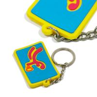 Wholesale Eco - Friendly Personalized Promotional Gifts 3d Pvc Key Chain Any Color from china suppliers