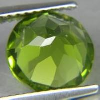Wholesale Nature Green Peridot Loose Gemstones Round With Brilliant Cut from china suppliers
