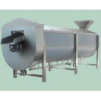 Wholesale Stainless Steel Spiral Type Blancher Vegetable Processing Machinery High Efficiency from china suppliers
