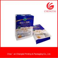 Wholesale Semi Aluminium Material Flat Bottom Pouches For Sugar Food 200G Non - Toxic from china suppliers