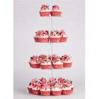 Wholesale Clear Countertop acrylic cake display rack from china suppliers