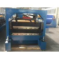 Wholesale Double Layer Roofing Tile Roll Forming Machine , Aluminium Cold Roll Forming Machine from china suppliers
