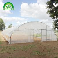 Buy cheap low cost multispan greenhouse Commercial farming for sale for vegetables from wholesalers