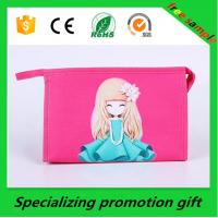 Wholesale Promotional Women Nylon Travel Cosmetic Bag Custom Printed Bags from china suppliers