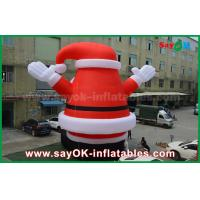 Wholesale Big Lovely Outdoor Inflatable Santa Claus for Christmas Decoration from china suppliers
