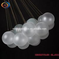 Frosted hanging glass lampshade /E14 ball wall lamp