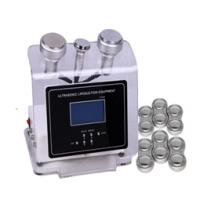 Wholesale Ultrasound face nutrition input probe 40khz / 630nm cavitation slimming machine from china suppliers