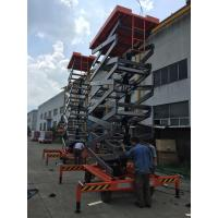 Buy cheap 480kg 9 meters Mobile Aerial Work Platformm for hotel decoration from wholesalers