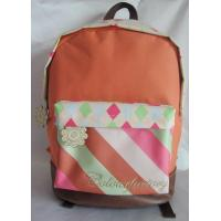 Wholesale Student Kid School Bag 600d Polyester With Heat Transfer Print from china suppliers