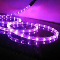 Wholesale Output Waterproof Flashing LED Rope Light, safety, environmental protection, lifespan of 100,000h from china suppliers