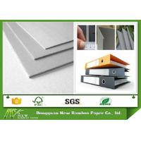 Wholesale Professional Hard Stiffness Gray Paperboard , Arch File Uncoated 2mm Greyboard from china suppliers