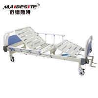 Wholesale Unique Design Manual Hospital Bed With ABS Nosiness Wheels 50-80 KG Weight from china suppliers