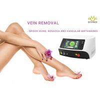 Buy cheap 10Khz Spider Veins On Legs Treatment , Laser Vein Treatment With Touch Screen from wholesalers