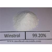 Wholesale Highly Effective Oral Anabolic Steroids Stanozolol Winstrol Powder CAS 10418-03-8 from china suppliers