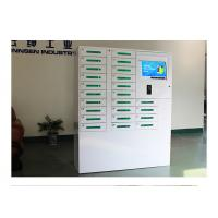 Wholesale Touch Screen Self Serve Smart Cell Phone Charging Station Kiosk with Coin Acceptor from china suppliers