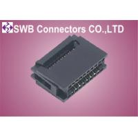 Wholesale Double Row Female IDC Socket Connector 10 pin , WTB Connector 2.54mm Pitch from china suppliers