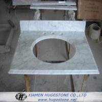 Wholesale Cream White Sink Countertop, Granite Sink Countertop for Kitchen from china suppliers