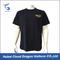 Wholesale 100% Polyester Men Police Officer T Shirts Printed Company Logo from china suppliers