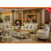 Wholesale European style antique luxury Living room wooden sofa set designs from china suppliers