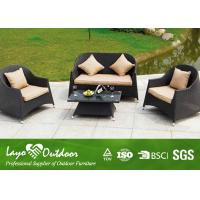 Wholesale European Style Sofa Restaurant Modern Rattan Sofa Furniture Rattan Garden Set Rattan Sofa Outdoor from china suppliers
