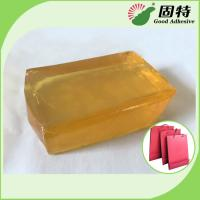 Wholesale Polyolefin Light And Semi-Transparent Block Solid Hot Melt Glue For Making Paper Bag from china suppliers