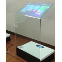 Buy cheap 30 Inch Interactive Touch Screen Platform Advertising Display Transparent Booth from wholesalers