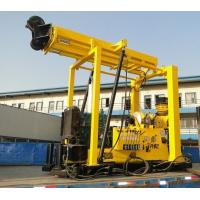 Wholesale ZSYX-300T Full Hydraulic Small Water Well Drilling Rig (mud pump draining, trailer type) from china suppliers