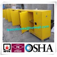 Wholesale Flammable Chemical Storage Cabinets / Fireproof Storage Cabinets For Chemical from china suppliers