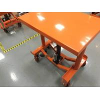 Wholesale Safety Hand Post Lift Table Hydraulic Workshop Platform For Smooth Finished Floors from china suppliers