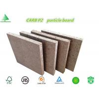 Wholesale Standard size E0/CARB P2 class 18MM wholesale cheap raw chipboard from china suppliers