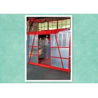 Quality Rack & Pinion Building Construction Cage Hoist , Passenger And Material Hoist for sale
